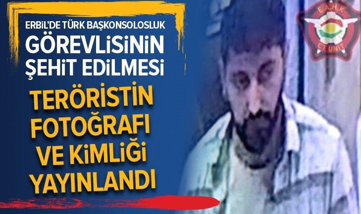 Erbil saldırısında flaş gelişme! Saldırganın kimliği ve fotoğrafı açıklandı