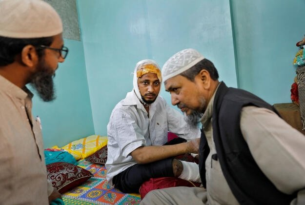 Hindistan'da öldüresiye dövülen Muhammed Zübeyir dehşet anlarını anlattı 3