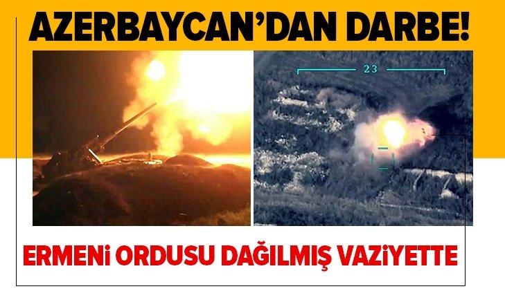 Azerbaycan'dan darbe! Ermeni ordusu dağılmış vaziyette