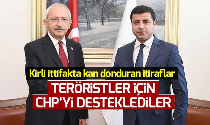 CHP-HDP ittifakı sosyal medyada deşifre oldu