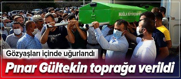 Vahşice katledilen Pınar Gültekin toprağa verildi
