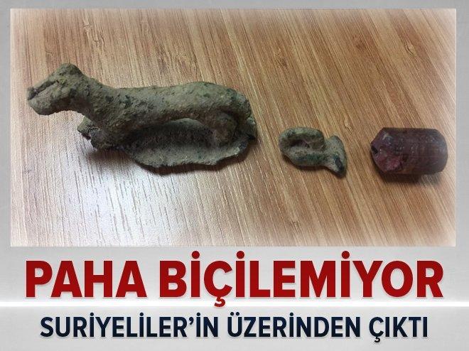 İSTANBUL'DA PAHA BİÇİLEMEYEN TARİHİ ESERLER ELE GEÇİRİLDİ