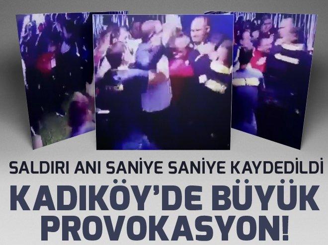 İşte Kadıköy'de koridorda yaşanan kavga