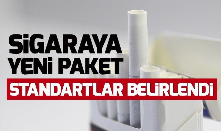 Sigara üretim ve paketlenmesinde standartlar belirlendi! Karar resmi gazetede...