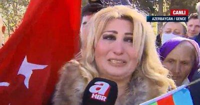 Son dakika: Karabağ'ın kalbi Şuşa kenti işgalden kurtarıldı! Azerbaycanlı vatandaşlar A Haber canlı yayınında gözyaşlarıyla sevindi
