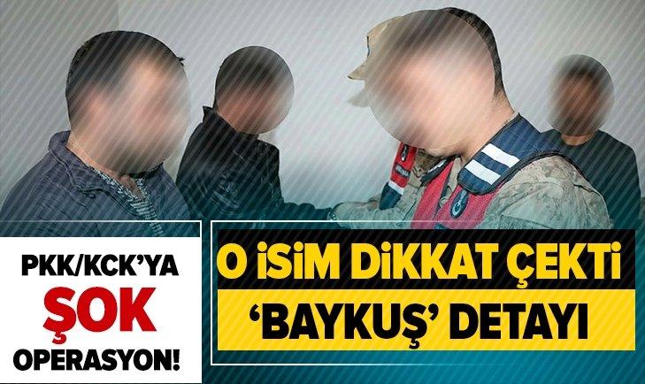 PKK/KCK'YA OPERASYON! O İSİM DİKKAT ÇEKTİ...