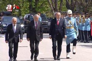 Son dakika! Başkan Erdoğan 23 Nisan Özel Oturumu için TBMM'de