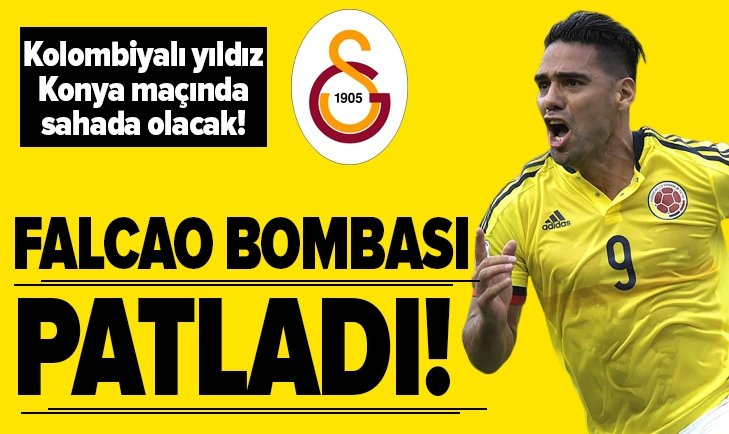 VE FALCAO GALATASARAY'DA
