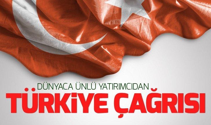 Dünyaca ünlü yatırımcı Mark Mobius'tan Türkiye değerlendirmesi