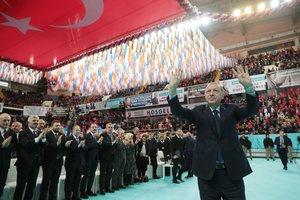 Başkan Recep Tayyip Erdoğan'a Trabzon'da sevgi seli
