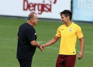 Galatasaray Alanyaspor maçı 11'leri beli oldu! Terim'den Falcao sürprizi...