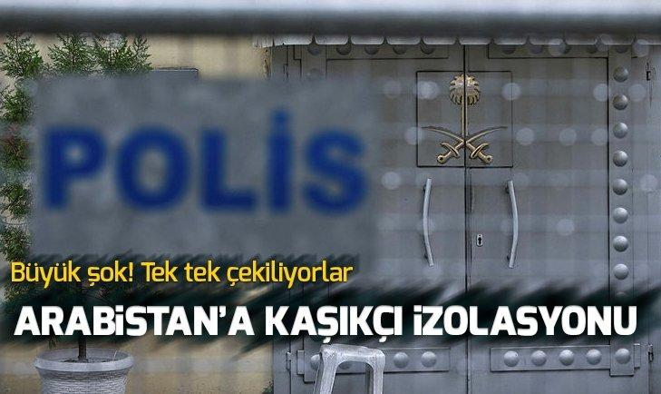 SUUDİ ARABİSTAN'A CEMAL KAŞIKÇI İZOLASYONU