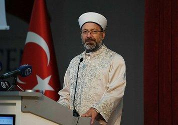 Diyanet İşleri Başkanı Ali Erbaş: Kur'an'ın amacı iyi insanı yetiştirmek