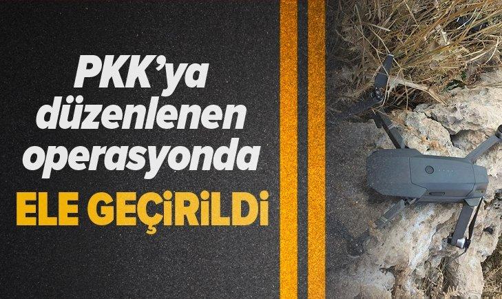 PKK''YA DÜZENLENEN OPERASYONDA ELE GEÇİRİLDİ