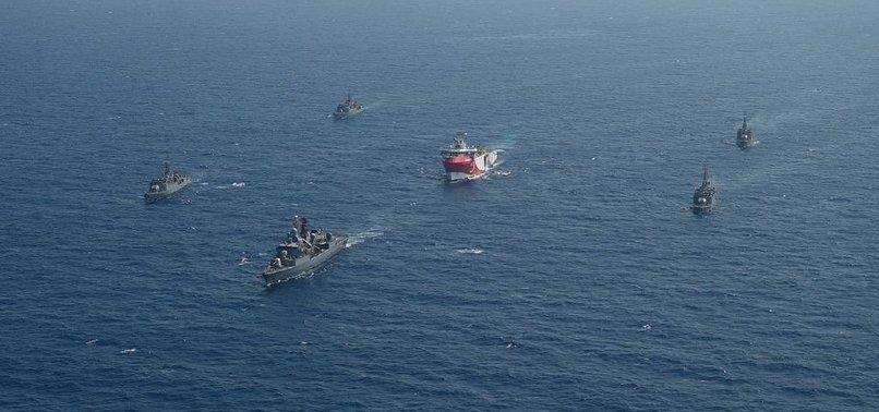 MSB'den flaş Oruç Reis açıklaması: Araştırma gemisine refakat ve koruma sağlanıyor