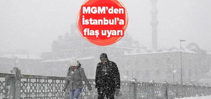 Meteoroloji'den flaş İstanbul uyarısı! Kar yağacak iller açıklandı! Cuma günü hava nasıl olacak?