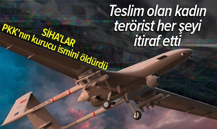 SİHA'lar PKK'nın kurucu ismini öldürdü!