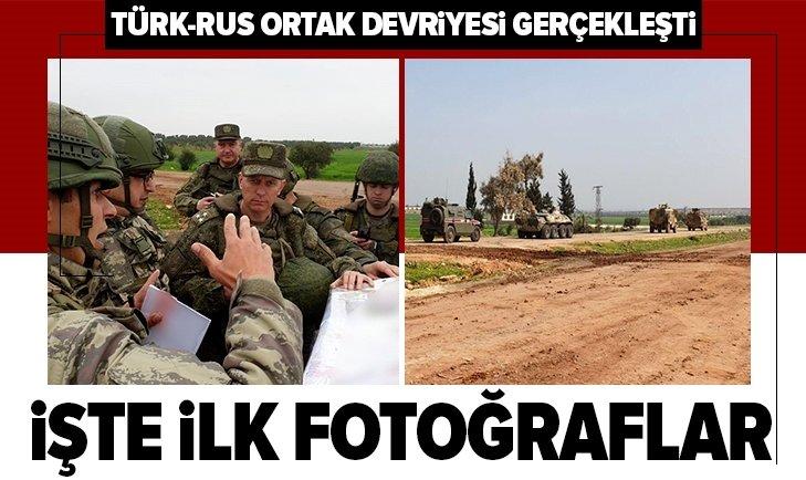 Son dakika: MSB: Türk-Rus ortak devriyesi İdlibde yapıldı! İşte ilk fotoğraflar...