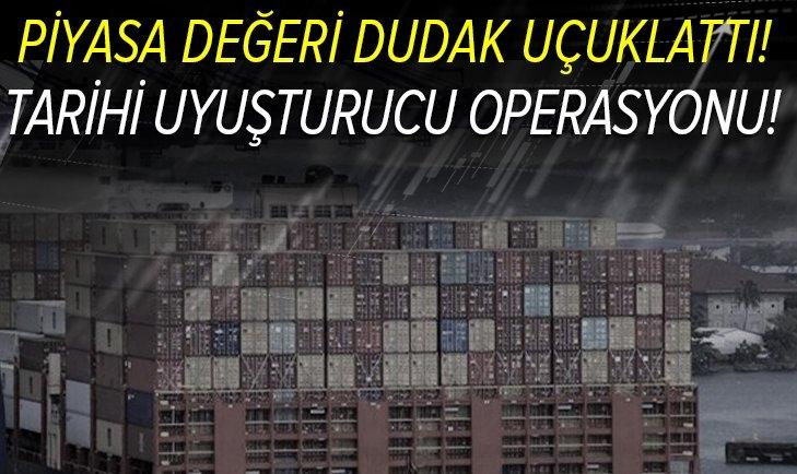 Ticaret Bakanı Mehmet Muş son dakika olarak duyurdu! Bugüne dek gerçekleştirilen en yüksek miktarda uyuşturucu operasyonu!