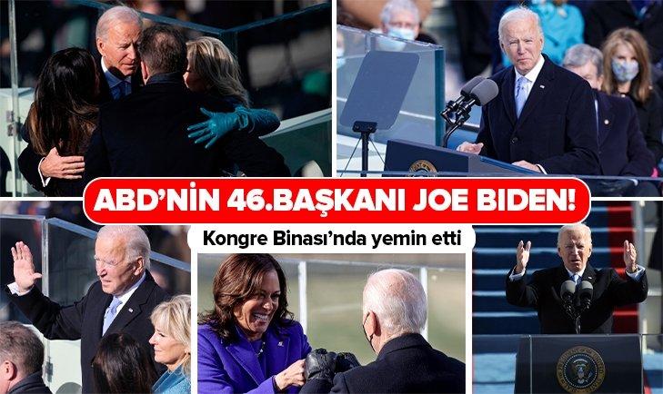 Joe Biden yeminini etti!