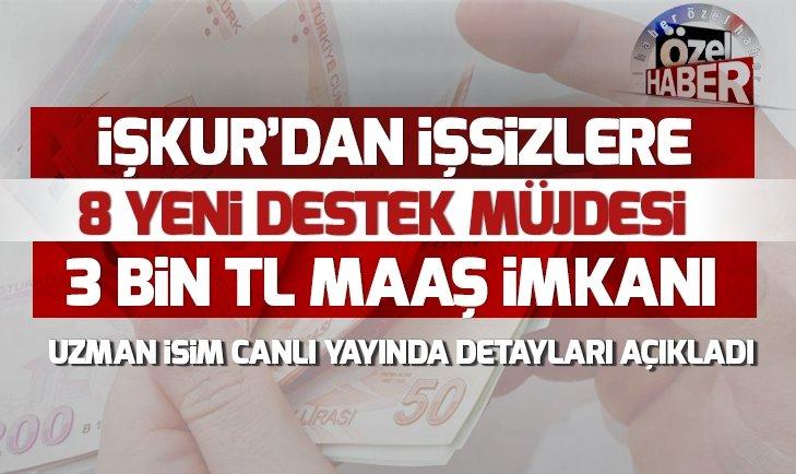 İŞSİZLERE 'İŞBAŞI EĞİTİM' PROGRAMI İLE 3 BİN TL MAAŞ...