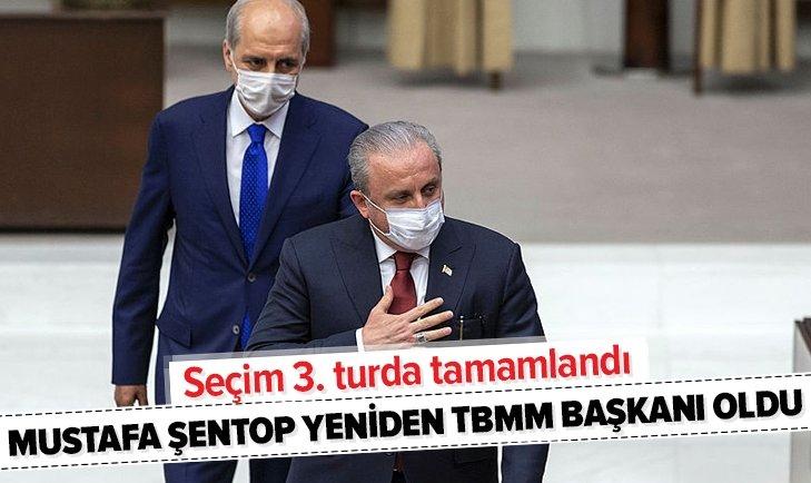 TBMM'de kritik gün! Yeni Meclis Başkanı Mustafa Şentop oldu