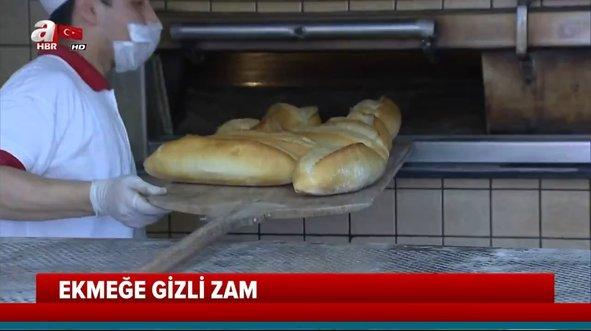 İstanbul'da ekmeğe 'gizli' zam geldi