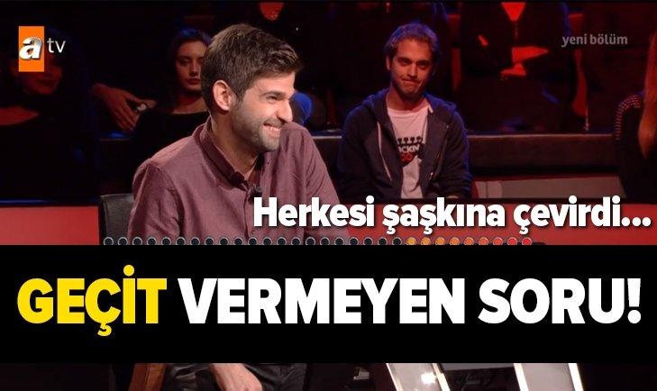 MİLYONER'DE GEÇİT VERMEYEN 'ALTGEÇİT' SORUSU!