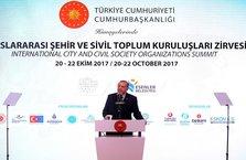 Cumhurbaşkanı Erdoğan'dan belediyelere kritik mesaj