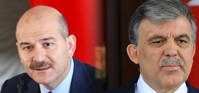 Son dakika: Bakan Soylu'dan Abdullah Gül'ün Gezi Parkı açıklamasına tepki: İçime hançer gibi saplandı