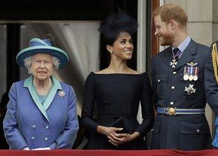 Meghan Markle ve Prens Harry'den Kraliçe Elizabeth'e sert tepki: Onun malı değil