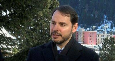 Son dakika: Hazine ve Maliye Bakanı Berat Albayrak Davos'ta ABD Hazine Bakanı Steven Mnuchin ile görüştü