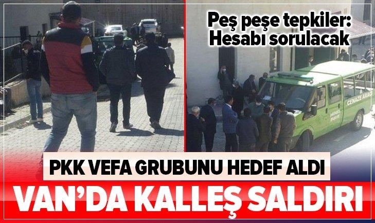 PKK'dan Vefa Grubu'na kalleş saldırı!
