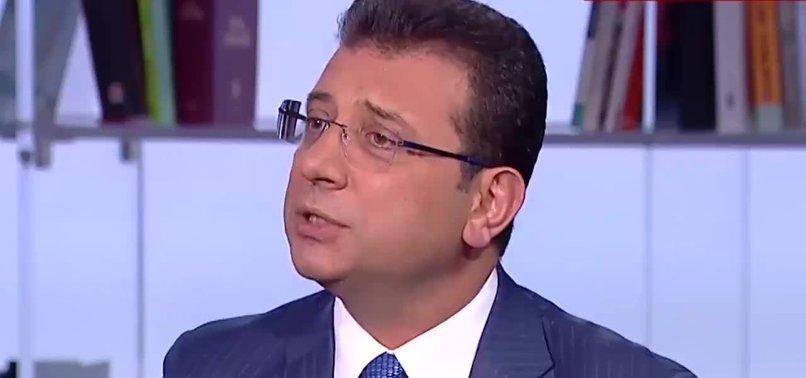 EKREM İMAMOĞLU 'VALİ' SORUSUYLA GERİLDİ!