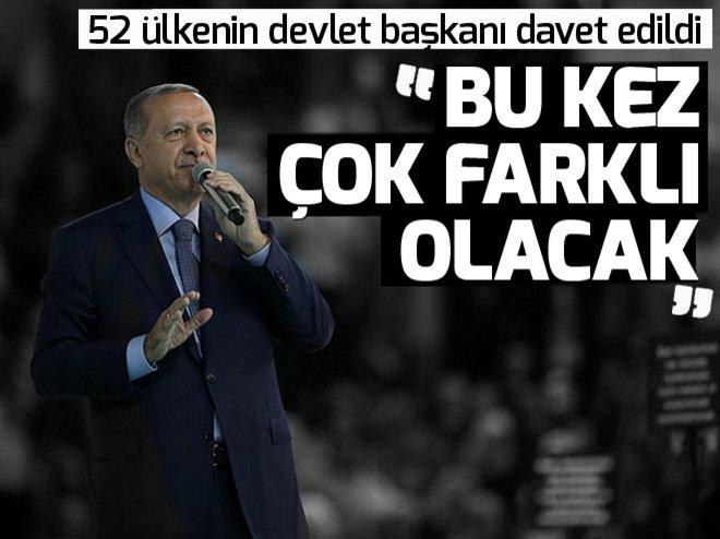 AK PARTİ KONGRESİ'NE 52 ÜLKENİN DEVLET BAŞKANI DAVET EDİLDİ