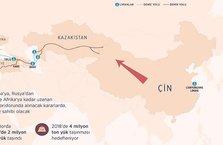 Yeni İpek Yolunun Avrupa'ya açılan kapısı Türkiye