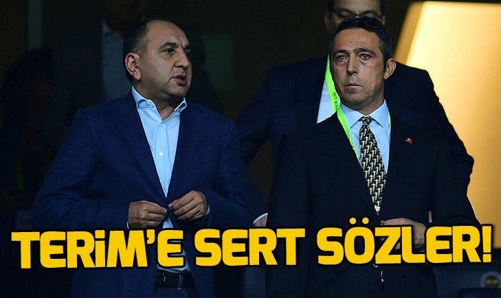 SEMİH ÖZSOY'DAN FATİH TERİM'E SERT SÖZLER!