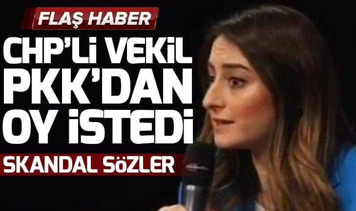 CHP'Lİ AYSU BANKOĞLU PKK'LI TERÖRİSTLERDEN OY İSTEDİ
