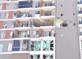 Son dakika: İstanbul Esenyurt'ta bir apartmanda doğal gaz patlaması