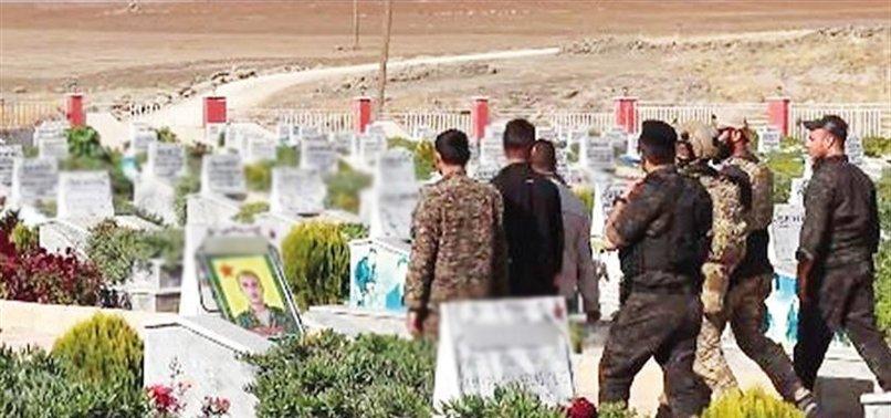 ABD ASKERLERİ PKK MEZARLIĞINDA