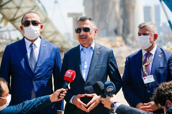Türk heyetine Lübnan'da yoğun ilgi! Üst düzey ziyaretten dikkat çeken kareler