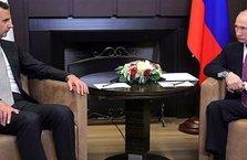 Üçlü zirve öncesi Rusya'da Putin-Esad görüşmesi