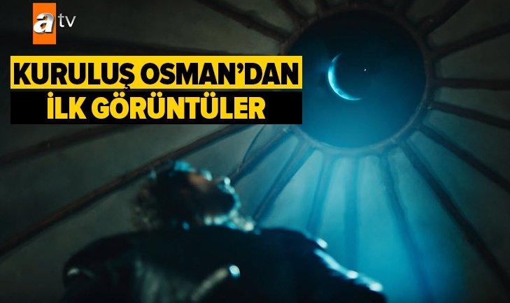 KURULUŞ OSMAN DİZİSİNDEN İLK GÖRÜNTÜLER GELDİ!