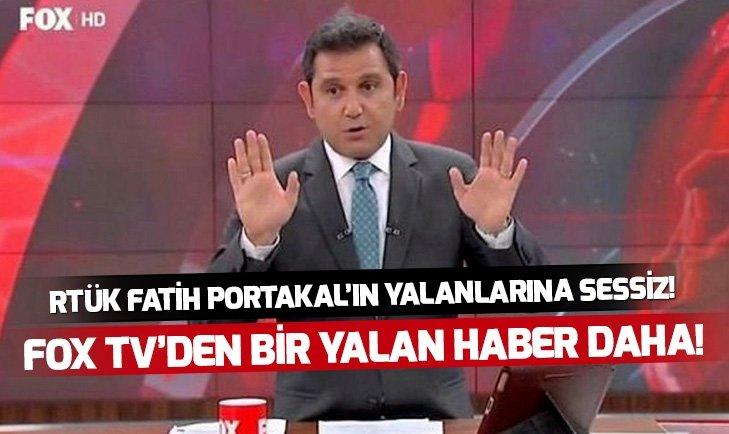 FOX TV YALANA DEVAM EDİYOR, RTÜK SESSİZ!