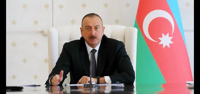 AZERBAYCAN CUMHURBAŞKANI ALİYEV PARLAMENTOYU FESHETTİ