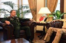Akar, Irak Genelkurmay Başkanı ile görüştü