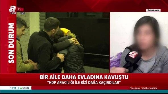 PKK'dan kaçan Pelda yaşadıklarını A Haber'e anlattı