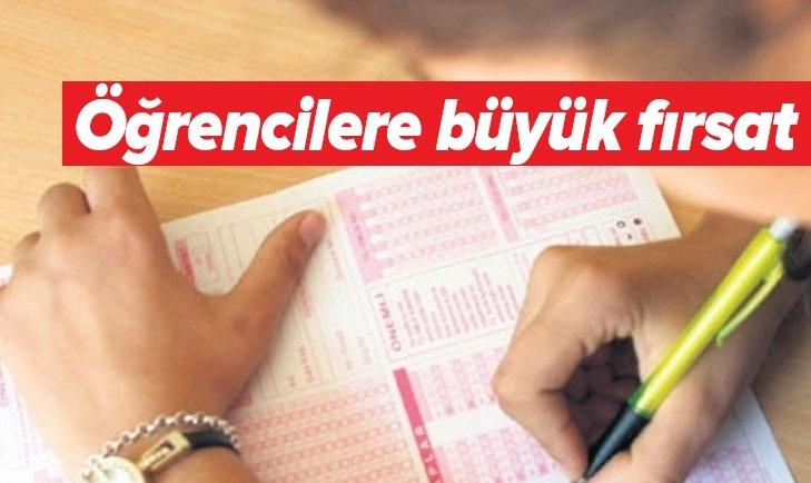 BİNLERCE ÖĞRENCİYE BÜYÜK FIRSAT!