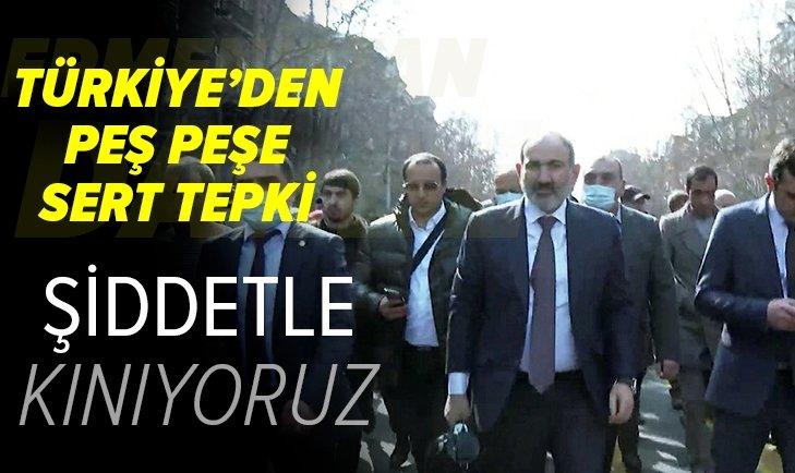 Türkiye'den Ermenistan'daki darbe girişimine tepki
