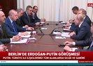 Son dakika: Libya Konferansı öncesi Erdoğan ve Putin Berlin'de konuştu |Video